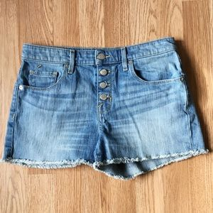 Mossimo High-Rise Button Fly Shorts